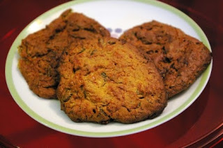 cookies courgette pois chiche
